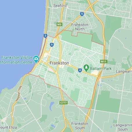 Frankston map area