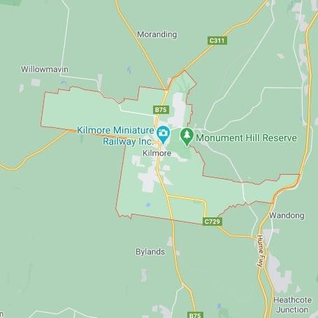 Kilmore map area
